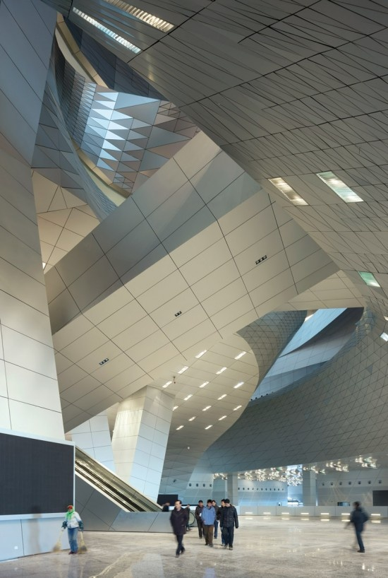 Dalian International Conference Center by Coop Himmelb(l)au I Like Architecture