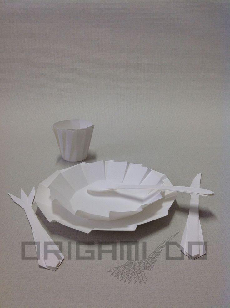 Origami Piatti e Posate