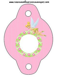 Tinkerbell Free Party Printables.