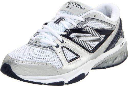 New Balance Mens MX1012 CrossTraining ShoeWhiteNavy8 D US * You can find out more details at the link of the image.