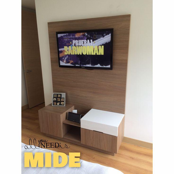 Centro de entretenimiento - Mueble TV - MiDE_SC.