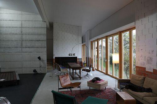 Peter Märkli - Atelierhaus Weissacher, Rumisberg, 2013