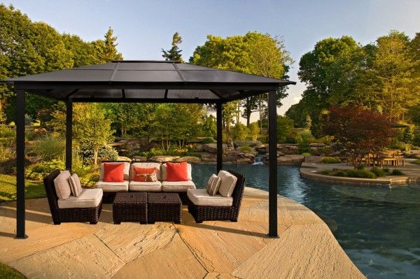 14 Best 13 Beautiful Gazebo Canopy Designs For Your Home