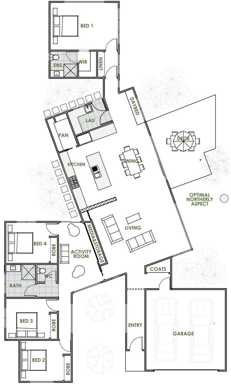 Image Result For Pod Style House Plans Energy Efficient House Plans Green House Design Home Design Floor Plans