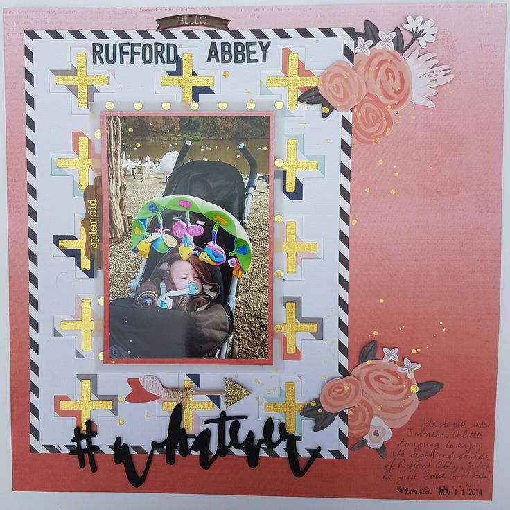 Layout using the October 2015 Hip Kit.
