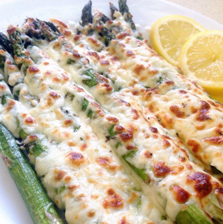 Baked Mozzarella Asparagus