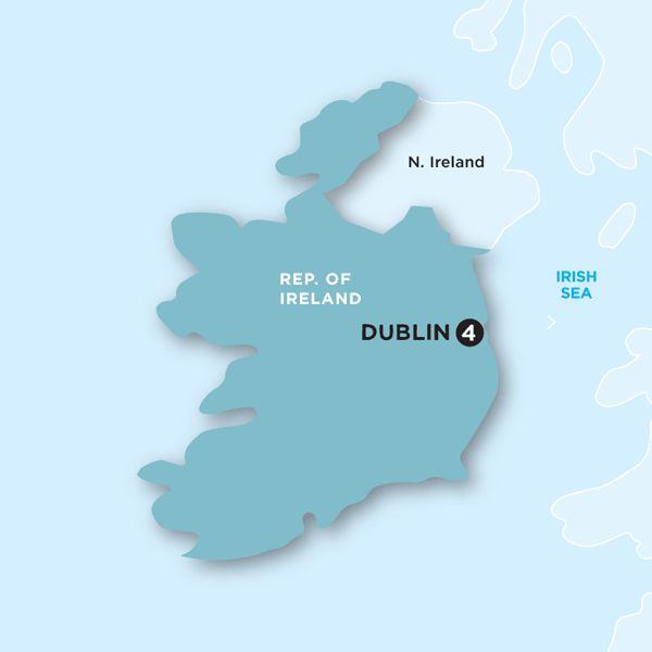 St. Patrick's Day Hostel Dublin 4 days $355
