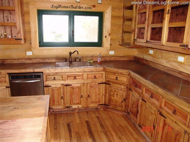 17 best images about medium counter tops on pinterest for Log cabin kitchen countertops