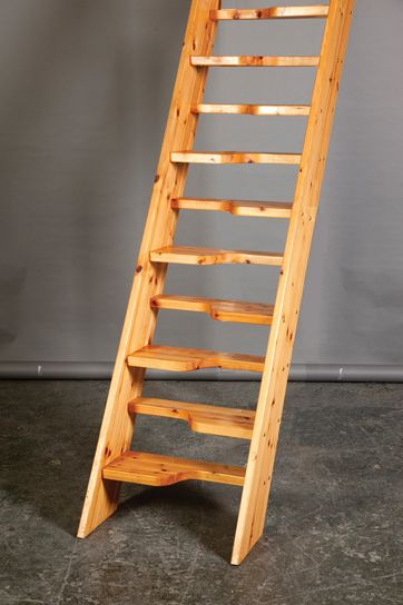Best Loft Centre Bergen Wooden Space Saving Stair Kit Available In 2 Width Sizes 545Mm 660Mm 400 x 300