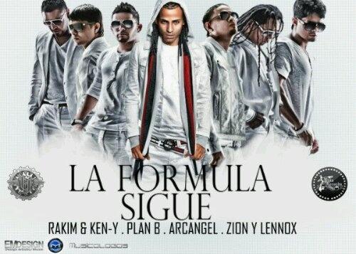 """La formula de Pina Records> RKM y Ken-Y, Arkangel, Plan B y Zion y Lennox """"Diosa de los corazones"""""""