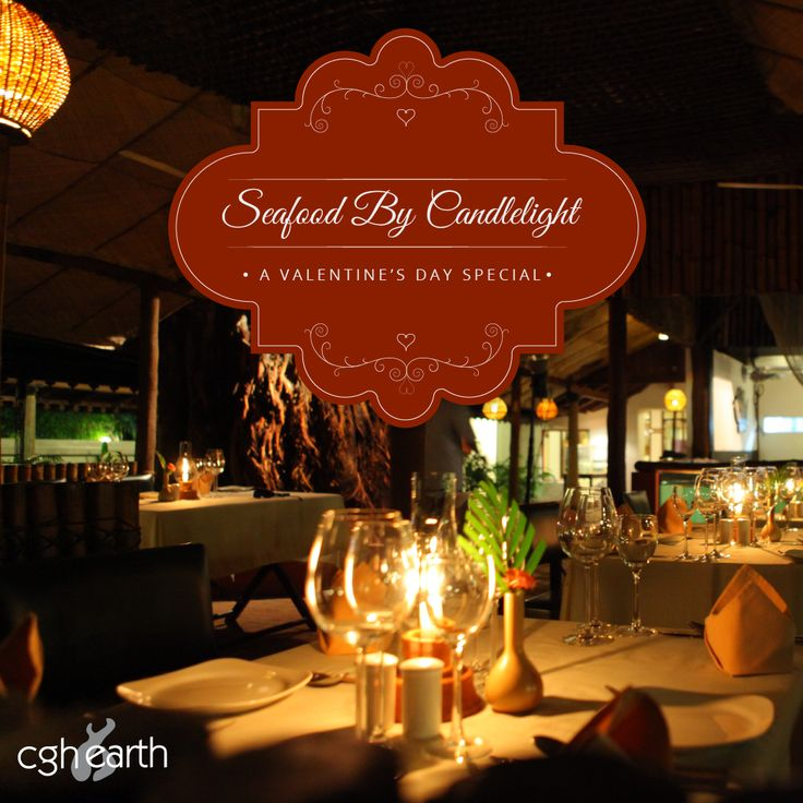 Treat your valentine to a romantic candlelight dinner at Fort Cochin seafood specialty restaurant.  Our 3-course set menu is matched with a complimentary mocktail, a strawberry shortcake, and special offers on sparkling wines, cocktails and mocktails on Valentine's Day. Call +91 7558942235 for reservations.
