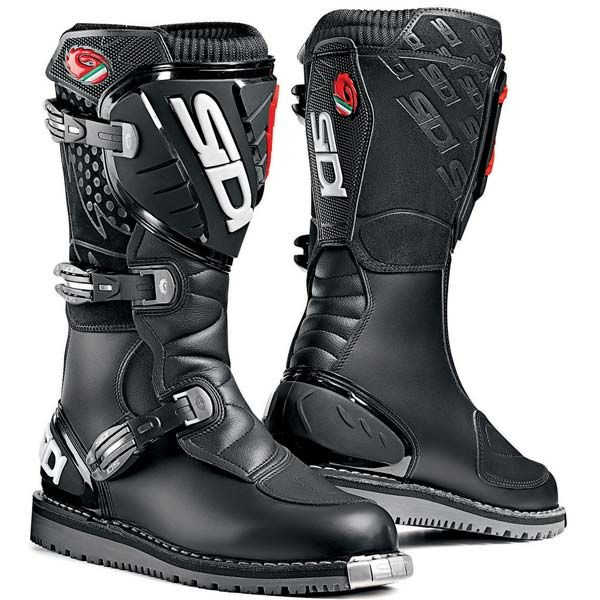 Sidi Courier dual-purpose motorcycle boots. Great for riding on and off-road