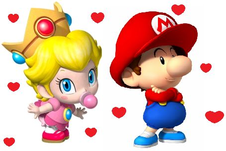 Oh my God! I love Baby Mario and Baby Princess Peach! They are so cute, I can't take them!