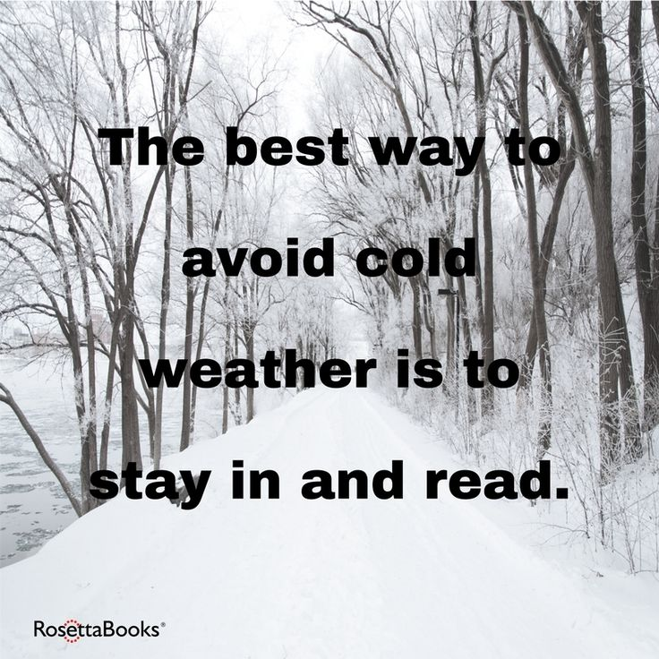 Stay safe and warm!