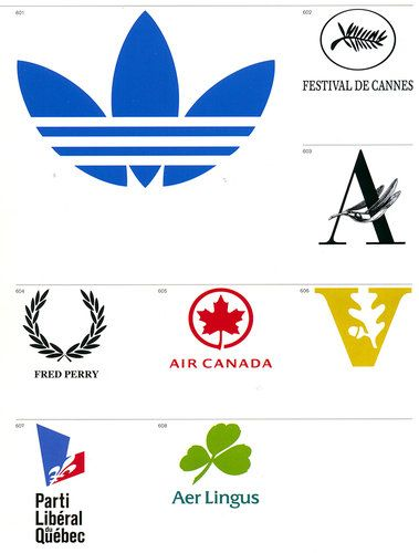 1: Marks of Excellence | The World's Most Famous Logos, Organized By Visual Theme | Co.Design: business + innovation + design