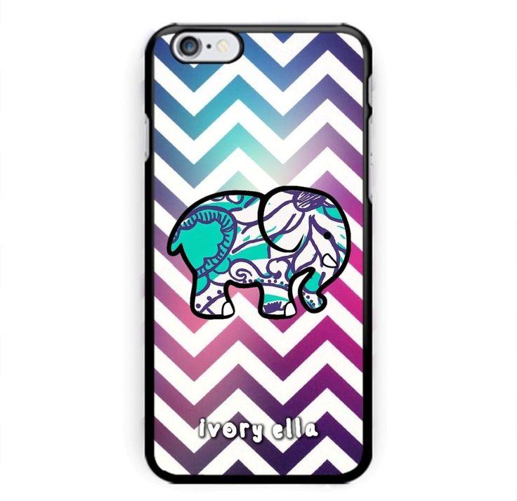 Ivory Ella Logo Chevron Custom Print On Cover For iPhone 6/6s, 6s plus #UnbrandedGeneric