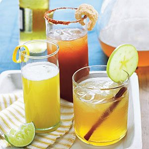 Game-Day Drinks | Barbecue Bloody Mary, Brewmosa, and Apple-Pie Bourbon Sweet Tea