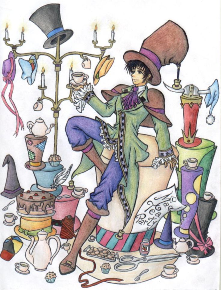 The Mad Hatter's Shop