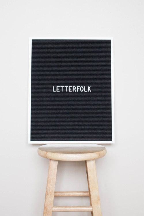 "The Writer is a beautiful 16"" x 20"" letter board. It's the perfect canvas for quotes/lyrics, scriptures, kitchen menus, chore charts, store signage and more."