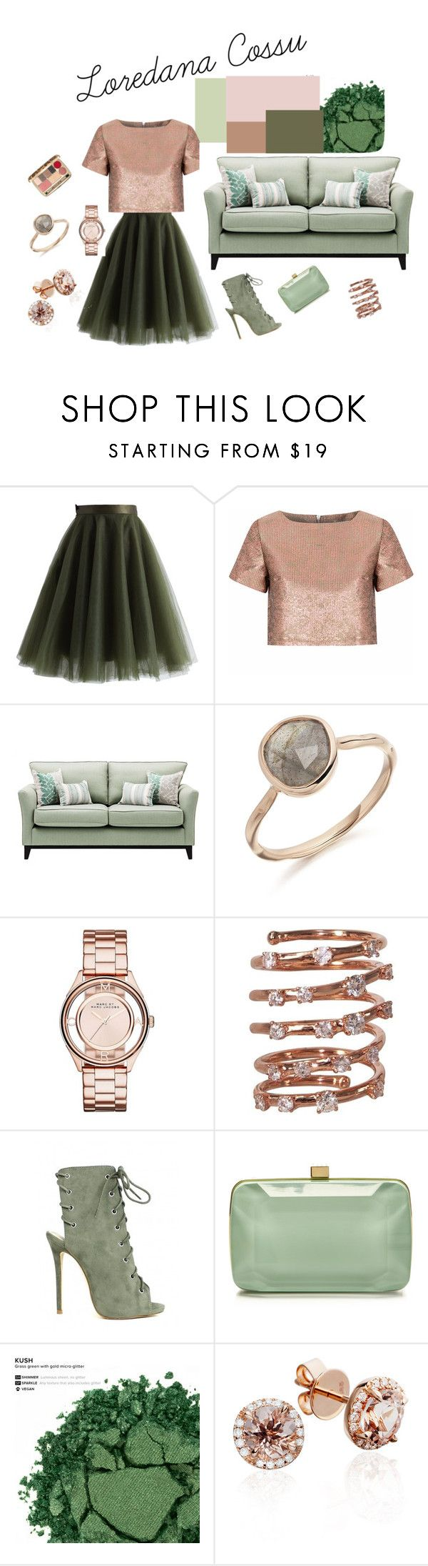 MOODBOARD by loredanacossu on Polyvore featuring moda, Glamorous, Chicwish, Elie Saab, Marc by Marc Jacobs, Plukka, Urban Decay, Dolce&Gabbana and Chanel
