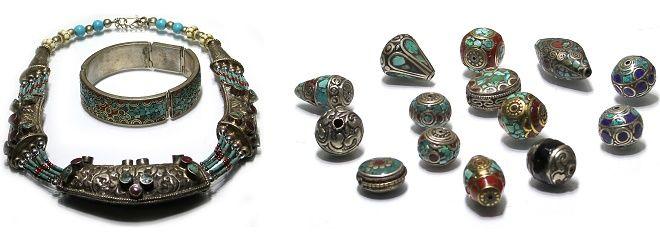 Tibetaanse sieraden en kralen #ultimatewebshops #sieraden