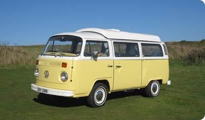 VW Type 2 campervan my `Primrose`