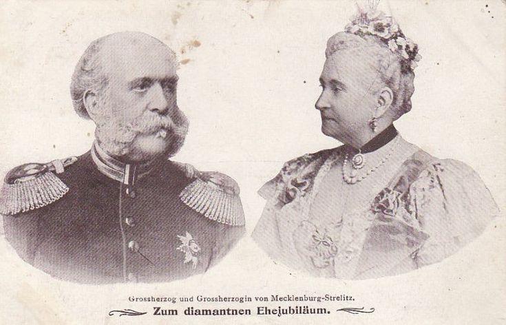 1903 Diamantene Hochzeit Großherzog Friedrich Wilhelm II. und Großherzogin Augusta von Mecklenburg-Strelitz | by Miss Mertens