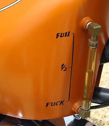 Great idea for a fuel gauge