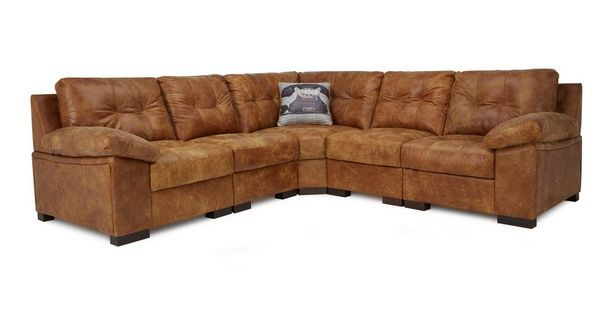 Rafael Modular Corner Sofa  Grand Outback   DFS