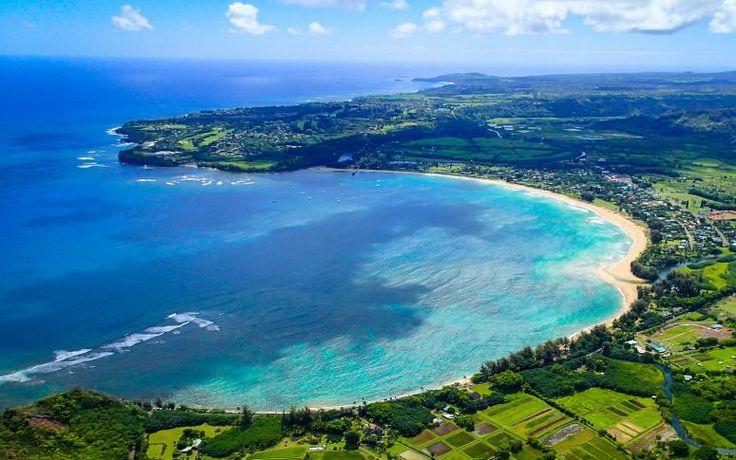 Hanalei Bay is a beautiful Cove