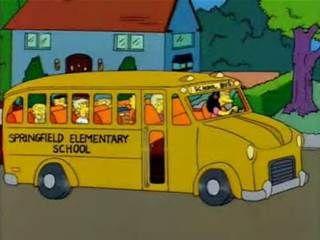 simpsons school bus - Bing Images