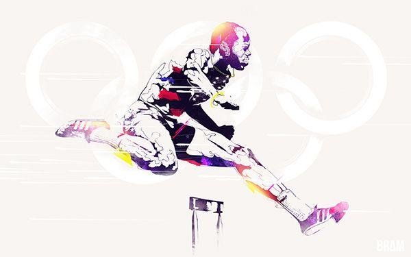 Legendary Olympians on Behance