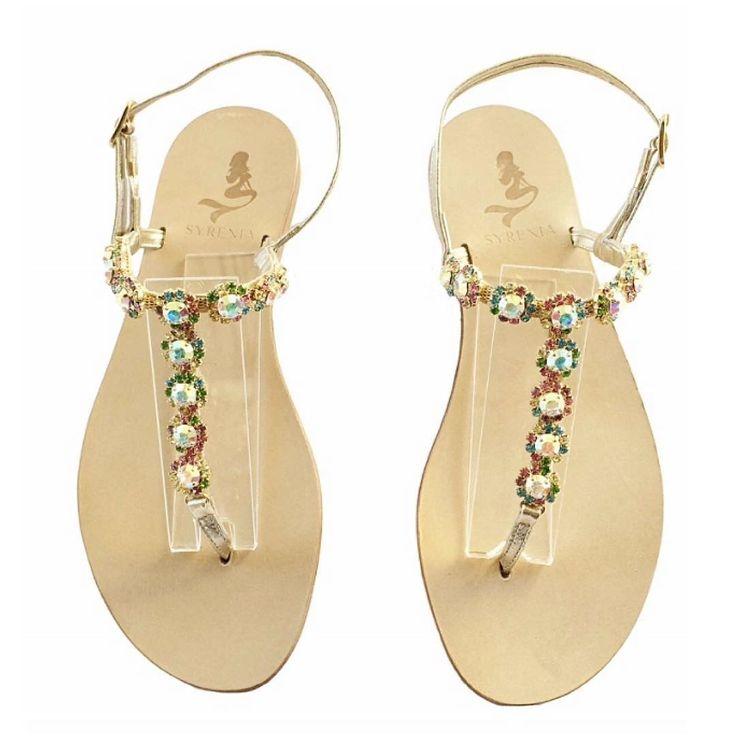 syreniasorrentoSandali Gioiello   Personalizzabili e su misura 💎 Custom Swarovski Crystal Sandals #syreniacaprisandals #sandali #sandals #syrenia #syreniasorrento #estate #sandaligioiello #sorrentocoast #sandalibassi #sandaliartigianali #caprisandals #tbar #ss16 #capri #holiday #fashion #love #leather #swarovski #dubai #diamond #sandalicapresi #infraditogioiello #bikini #italia #madeinitaly #luxorylifestyle #jewels #jeweledsandals #capri