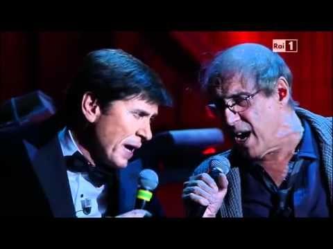 """Adriano Celentano and Gianni Morandi """"Ti penso e il mondo cambia""""  Two of my mom's favorite singers."""