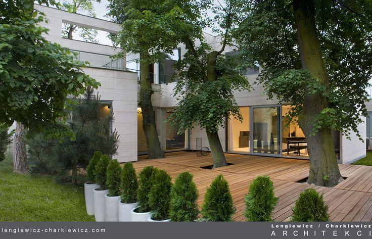 Dom znanej projektantki mody. Projekt i realizcja: lengiewicz-charkiewicz.com (fotografia: Hanna Długosz)