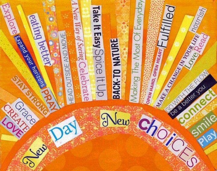 "This would be a great bulletin board to see every morning to remind students that each day is a brand new one with different choices. Could have positive affirmations and ""I will"" statements about the expectations..."