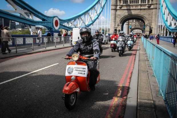 Vespa World Club London 2012