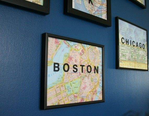 Nice way to remember places you have been, or want to go.