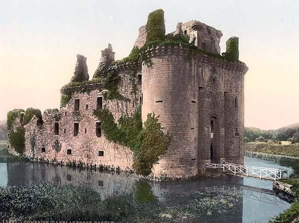 Caerlaverock Castle, Glencaple, Dumfries