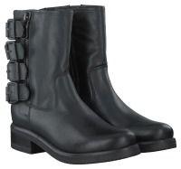 Zwarte PS Poelman Korte laarzen R14081