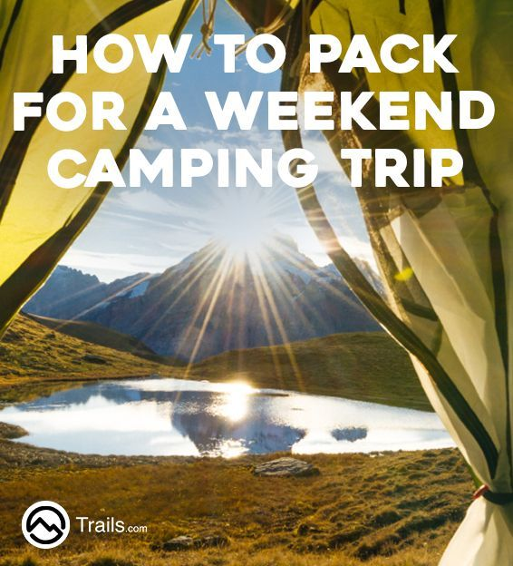 Weekend camping trips are short, and camping gear should be minimal, focusing more on recreational activities than on gear. The less you pack, the easier it is to maximize your time spent hiking, biking, fishing, hunting, swimming and relaxing. Pack the essentials, be prepared for inclement weather but maintain a minimalist approach when selecting your gear.