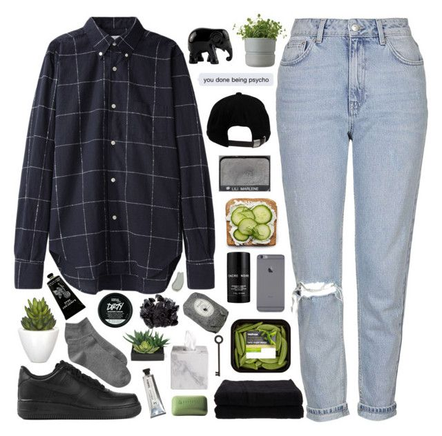 PHANTASMAGORIC by cleobluesky on Polyvore featuring polyvore, fashion, style, Topshop, Gap, NIKE, Our Legacy, Brixton, Omorovicza, Fresh, Lalique, TokyoMilk, Borghese, L:A Bruket, Home Source International, Pomax, The Elephant Family, McCoy Design, Lux-Art Silks, Waterworks, Rig-Tig by Stelton, NARS Cosmetics and clothing