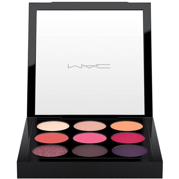 MAC Eye Shadow X 9: Red-Hot Times Nine - Colour Red-hot ($33) ❤ liked on Polyvore featuring beauty products, makeup, eye makeup, eyeshadow, palette eyeshadow, mac cosmetics and mac cosmetics eyeshadow