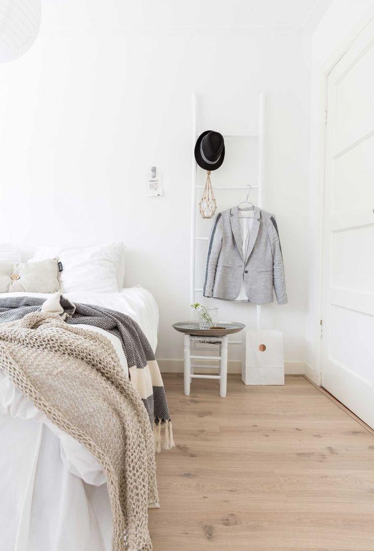 White home in The Netherlands via VT Wonen