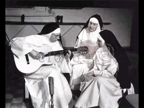 "The Singing Nun - Dominique (1963)  Jeanine Deckers, the original ""Singing Nun,""  captivated so many people with her vocal ability.  Decker's version of ""Dominique"" reached #1 on the Billboard pop charts in 1963."