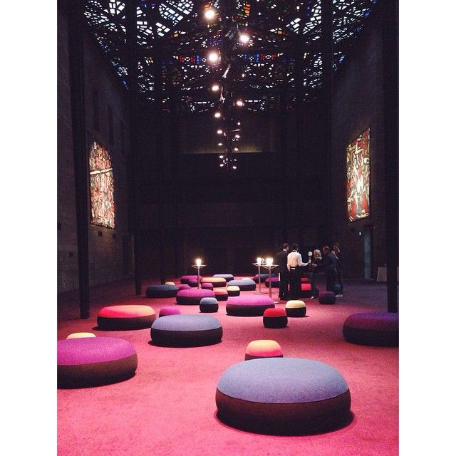 Puku Nui & Puku ottomans in the NGV Great Hall!