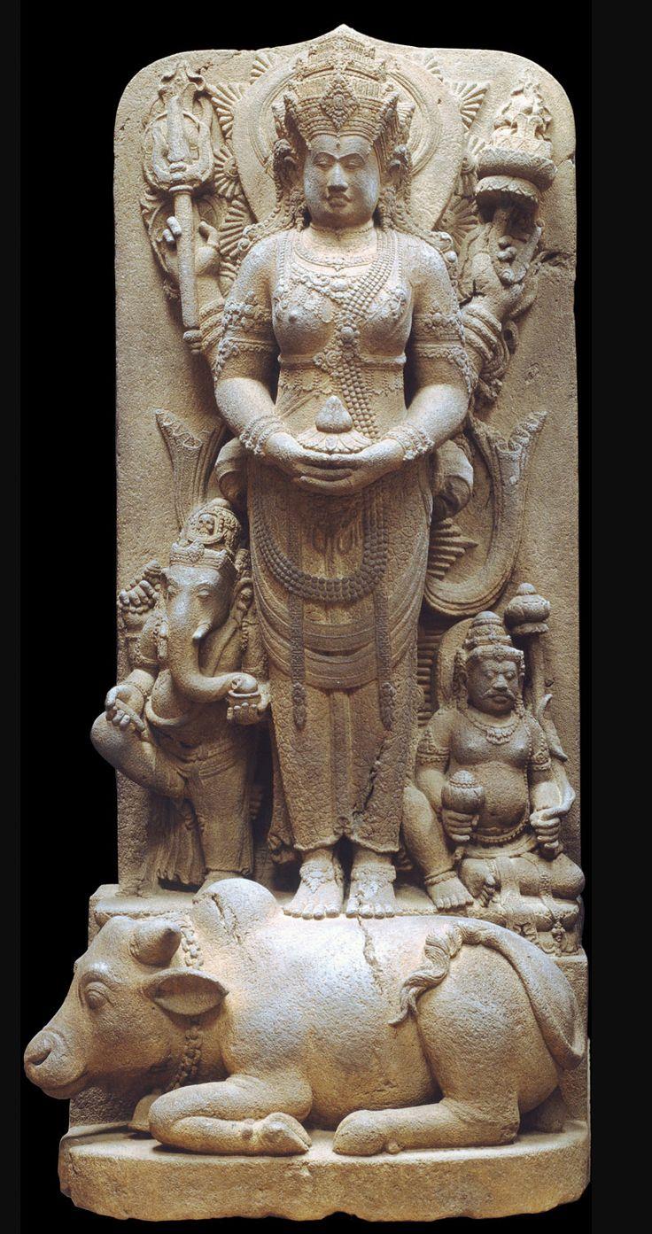Posthumous Portrait of a Queen as Parvati