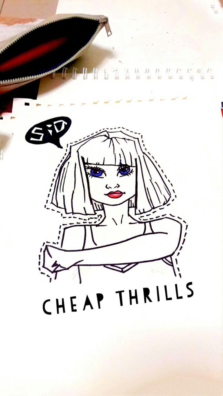 I love Sia_ CHEAP THRILLS