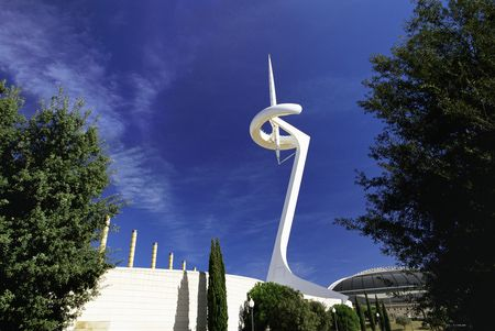 Montjuic Communications Tower by Santiago Calatrava
