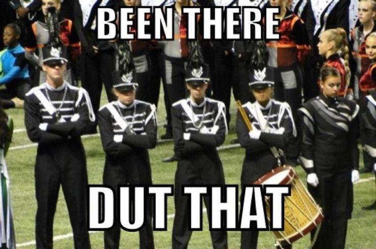 Haha drumline joke :) dut digga digga dut ;)